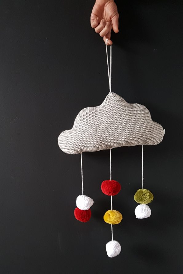 fabliek hanging cloud decoration children room