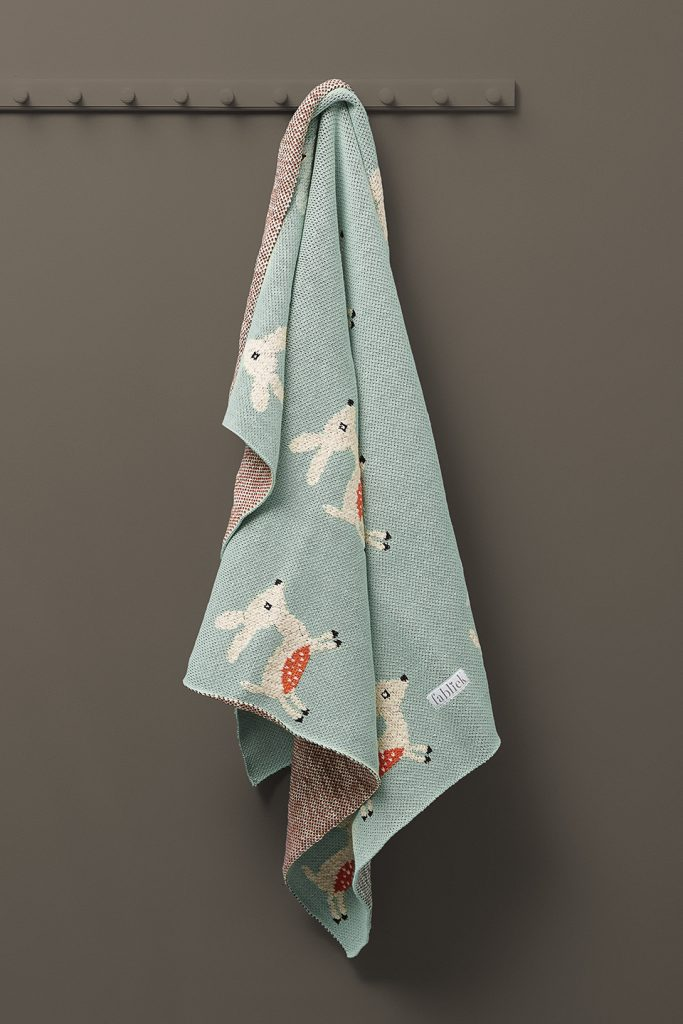fawn deer thick blanket throw
