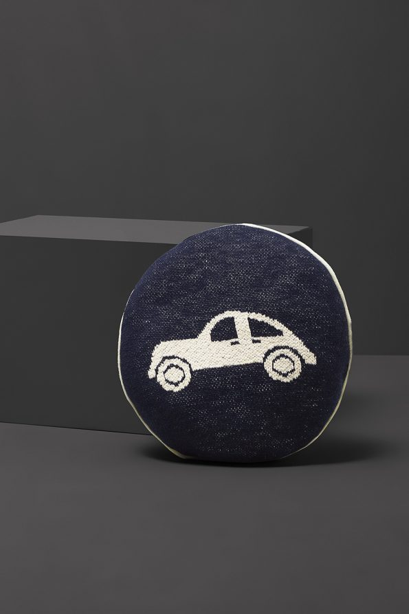 fabliek car knitted pillow