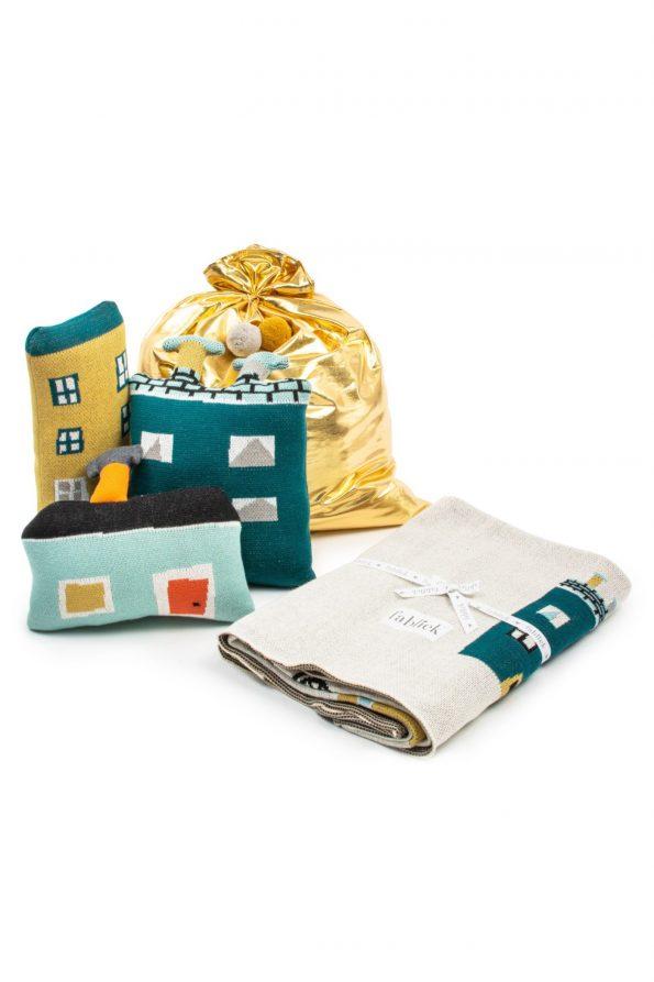 Christmas Gift Set - houses